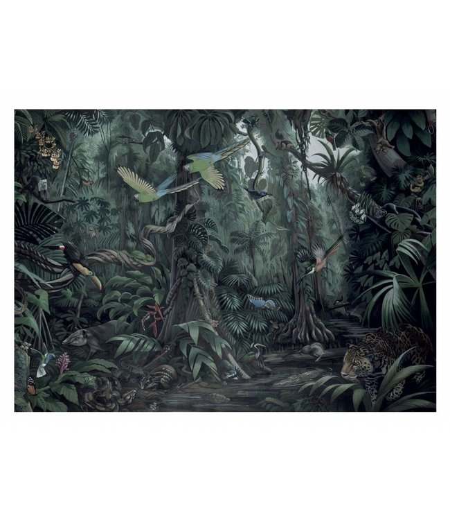 Fotobehang Tropical Landscapes, 389.6 x 280 cm