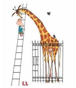 Tapetenpaneel Giant Giraffe
