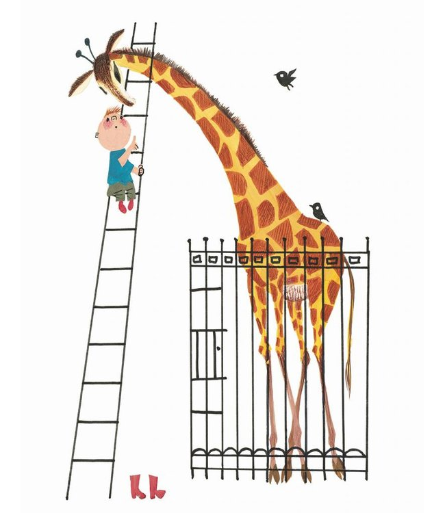 Wallpaper Panel Giant Giraffe, 142.5 x 180 cm