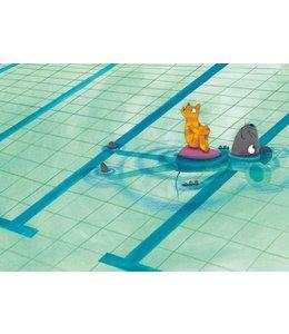 Fotobehang Swimming Lesson