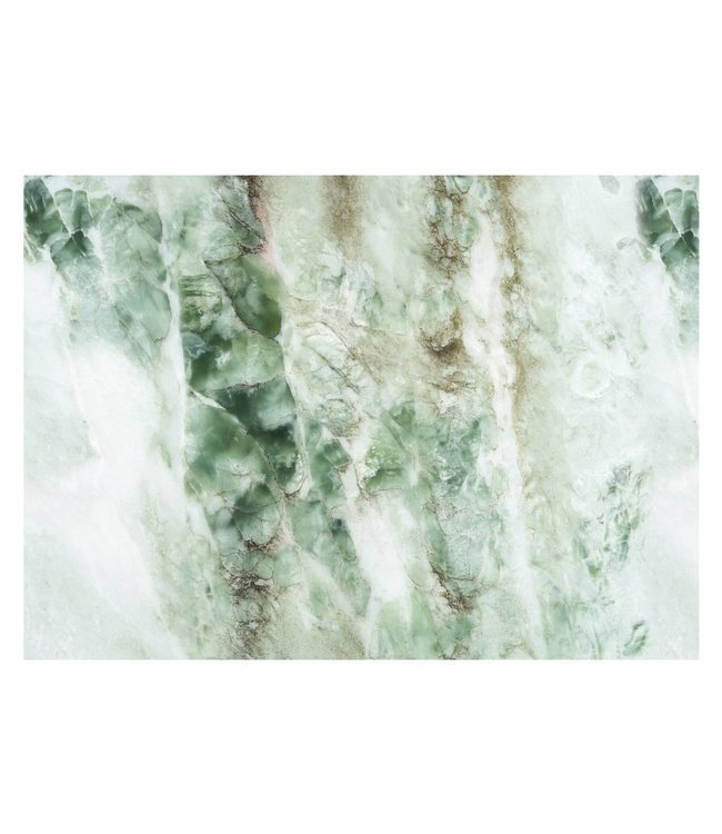 Wall Mural Marble, Green, 389.6 x 280 cm