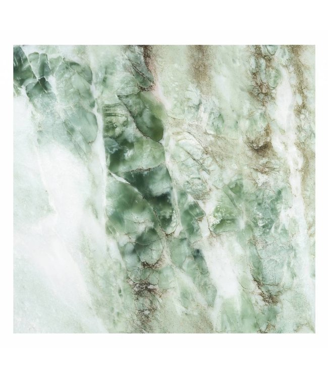 Wall Mural Marble, Green, 292.2 x 280 cm