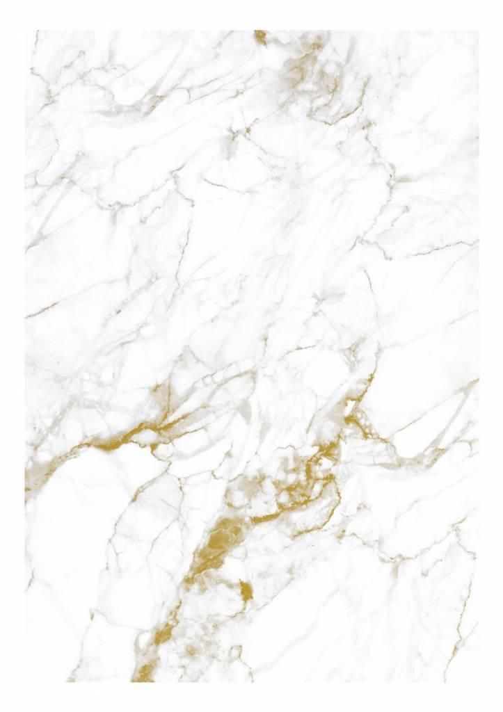 Wall Mural Marble White Gold 194 8 X 280 Cm Kek Amsterdam