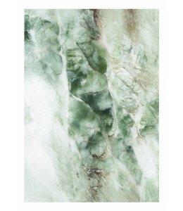 Fotobehang Marmer, Groen