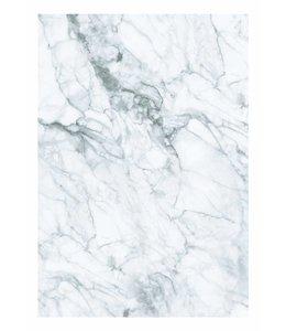 Fototapete Marble, Weiß-Gris