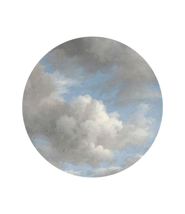 Behangcirkel Golden Age Clouds, ø 142.5 cm