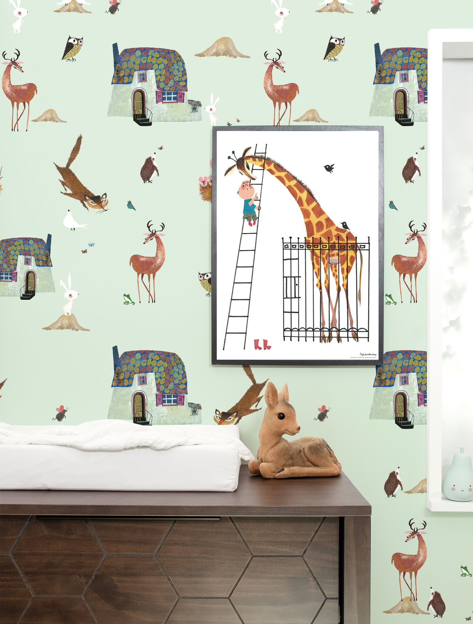 Behang Kinderkamer Jungle.Behang Muurstickers En Prints Op Hout Kek Amsterdam Kek Amsterdam