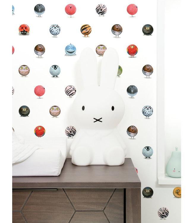 Tapete für Kinderzimmer Animal Marbles