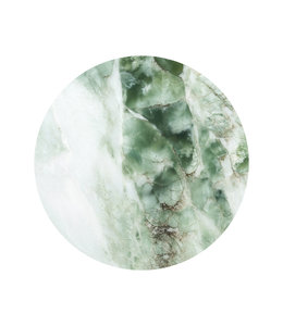 Tapetenpaneel rund Marble