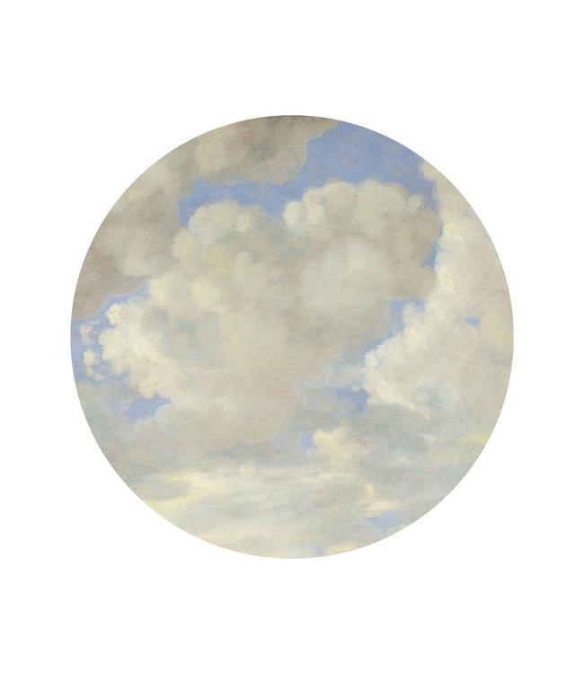 Wallpaper Circle Golden Age Clouds, ø 142.5 cm