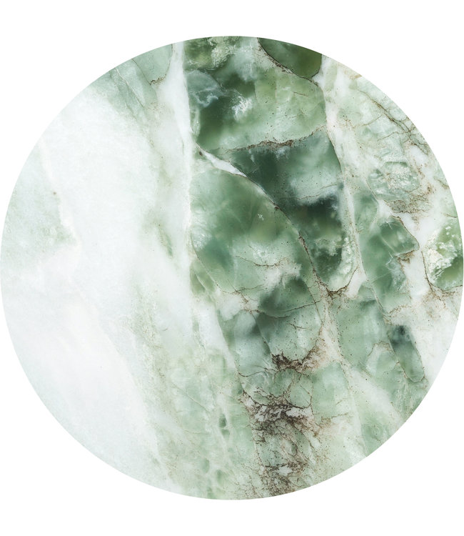 Wallpaper Circle Marble, ø 190 cm
