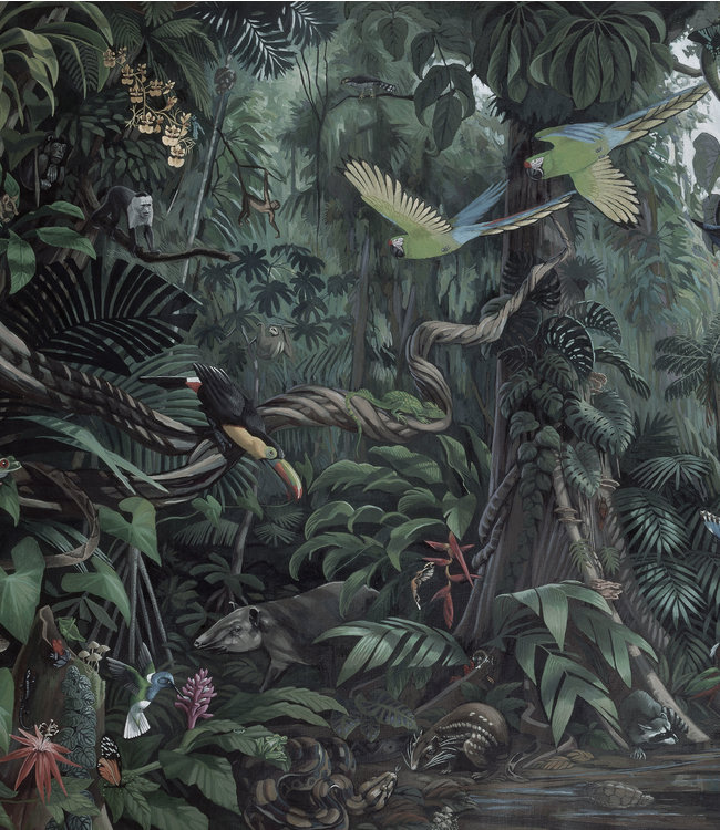 Tapetenpaneel XL Tropical Landscapes, 190 x 220 cm
