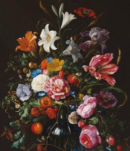 Behangpaneel XL Golden Age Flowers