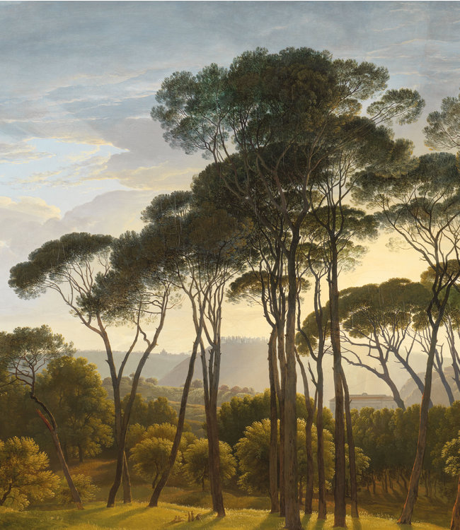 Wallpaper Panel XL Golden Age Landscapes, 190 x 220 cm