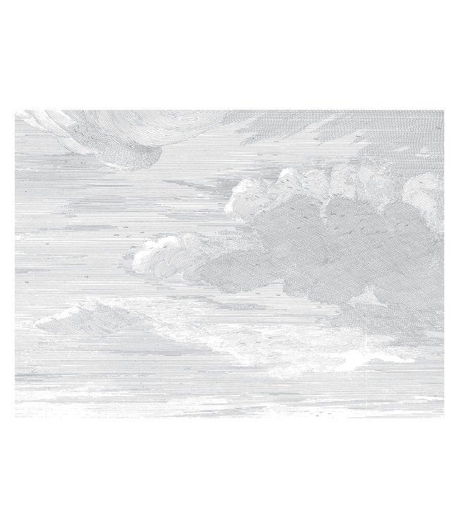 Fototapete Engraved Clouds, 389.6 x 280 cm