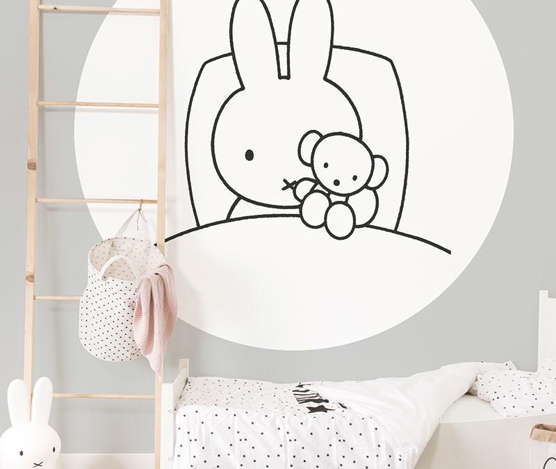 Nijntje behang voor de meest schattige babykamers