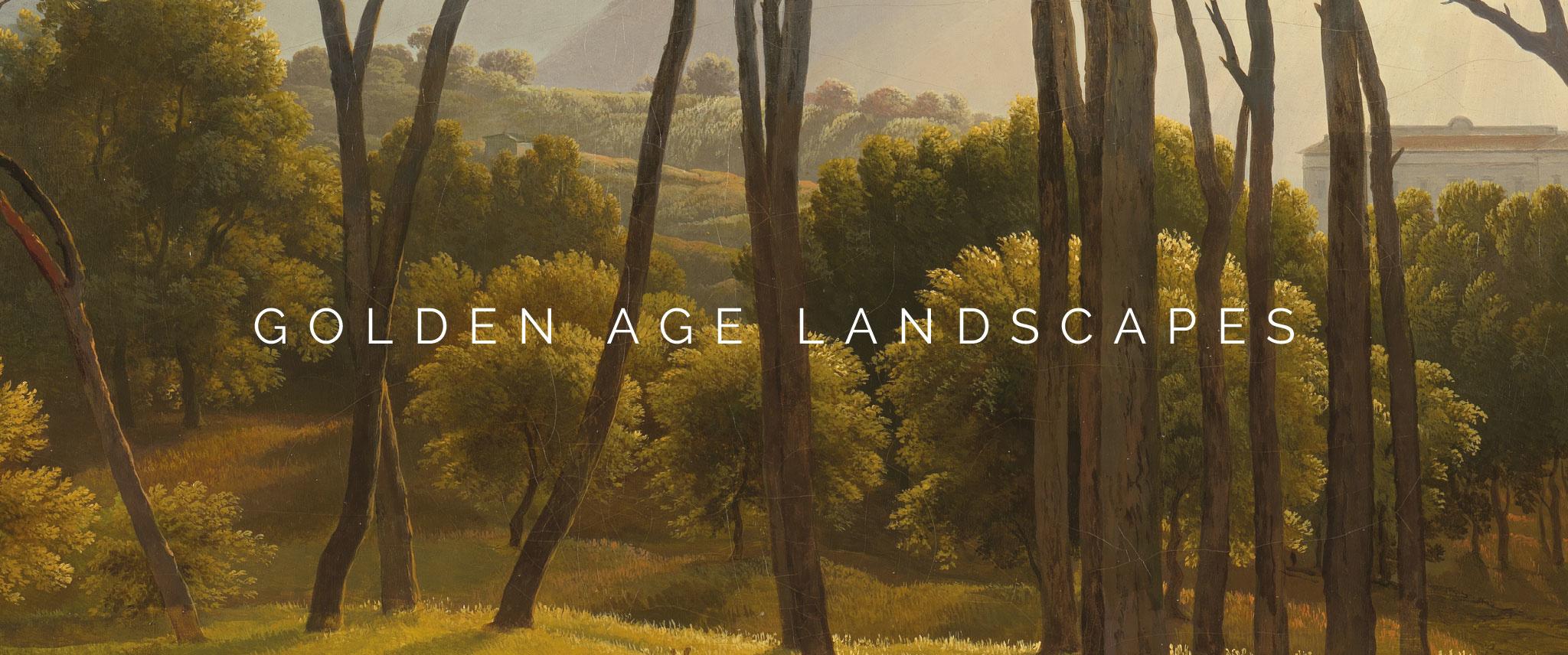 Behang Golden Age Landscapes