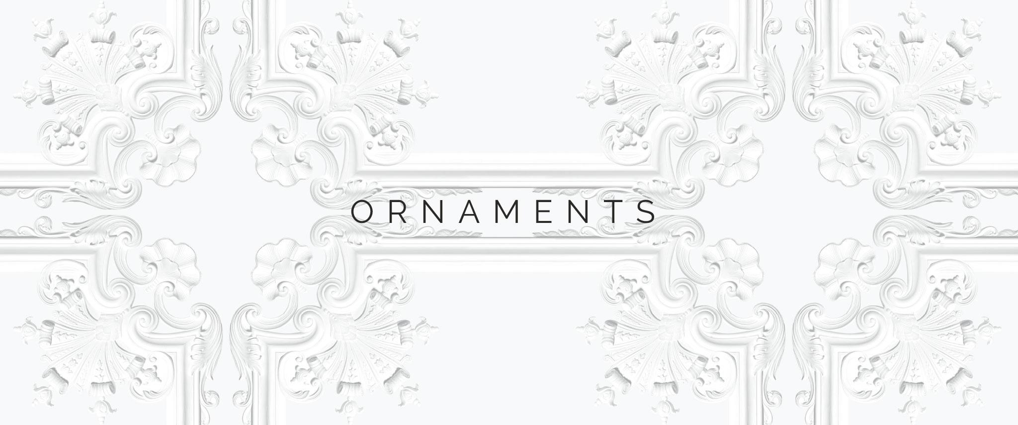 Behang Ornaments