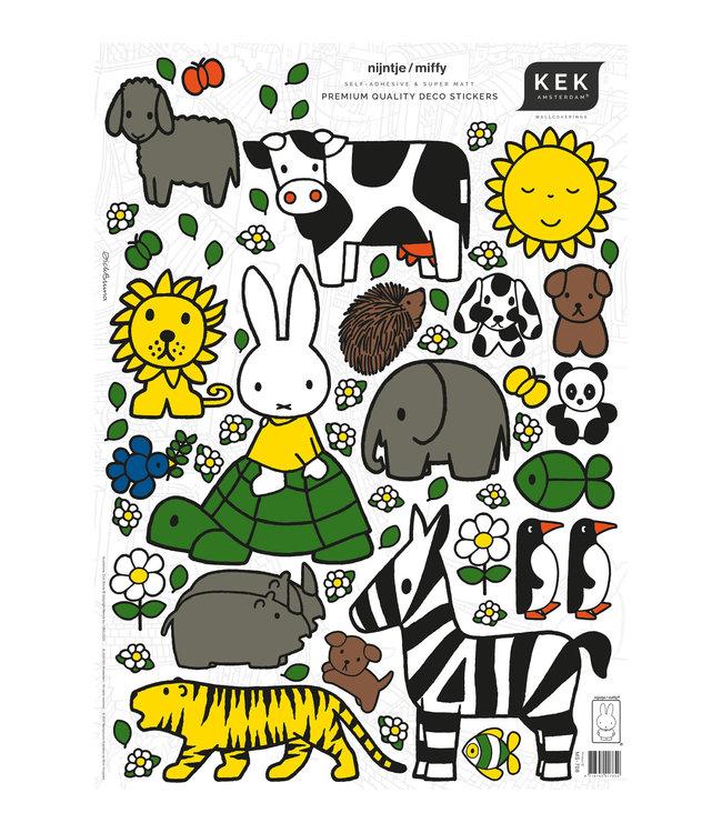 Miffy Wandtattoos, 42 x 59 cm