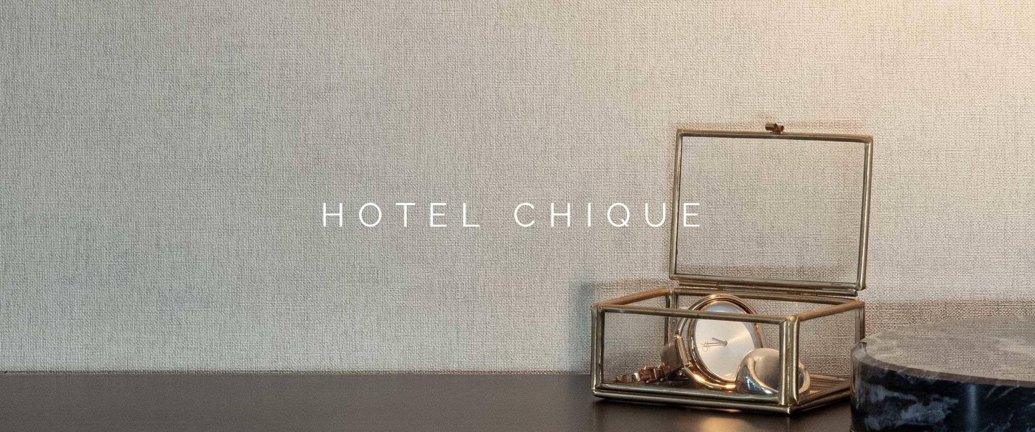 Behang Hotel Chique