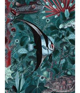 Wallpaper Underwater Forest
