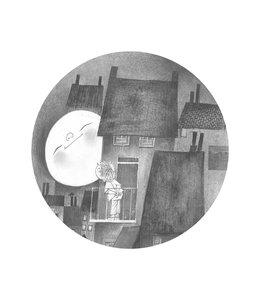 Behangcirkel Moonlight, ø 142.5 cm
