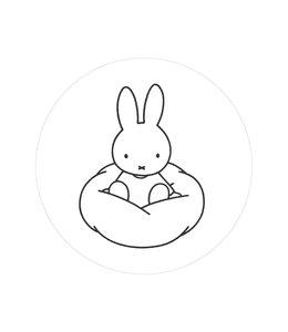 Tapetenpaneel rund Miffy Cloud, ø 142.5 cm