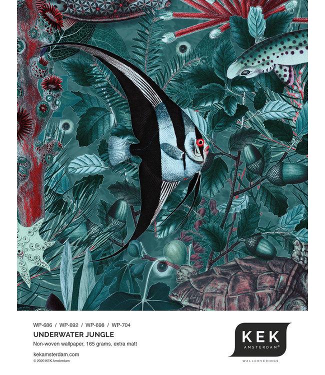 Wallpaper Sample Underwater Jungle WP-686 - WP-692 - WP-698 - WP-704