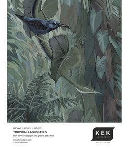Wallpaper Sample Tropical Landscapes WP-600 - WP-601 - WP-602