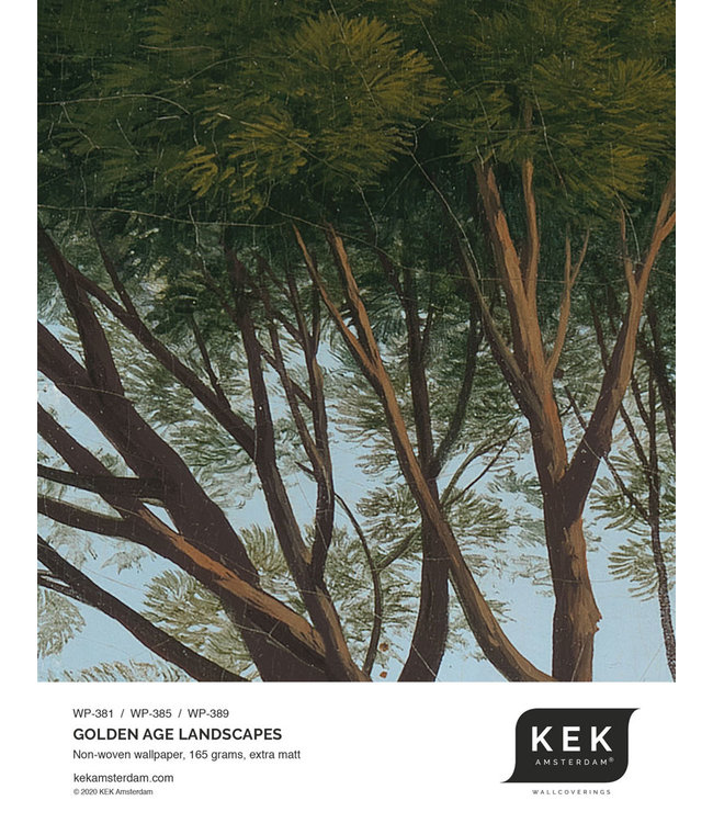 Tapetenmuster Golden Age Landscapes WP-381 - WP-385 - WP-389