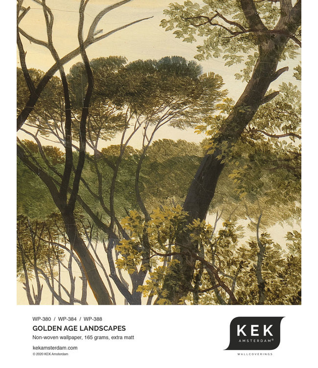 Wallpaper Sample Golden Age Landscapes WP-380 - WP-384 - WP-388