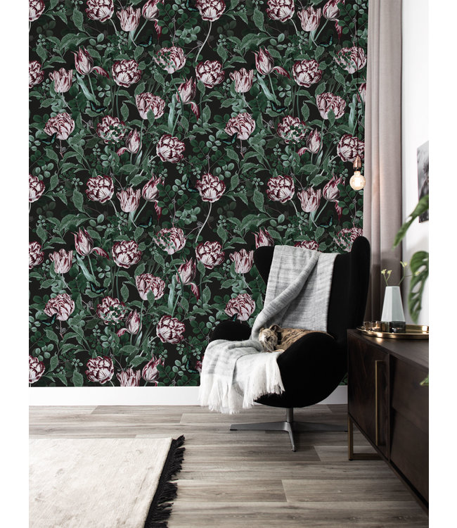 Bold Botanics Tapete, 97.4 x 280 cm