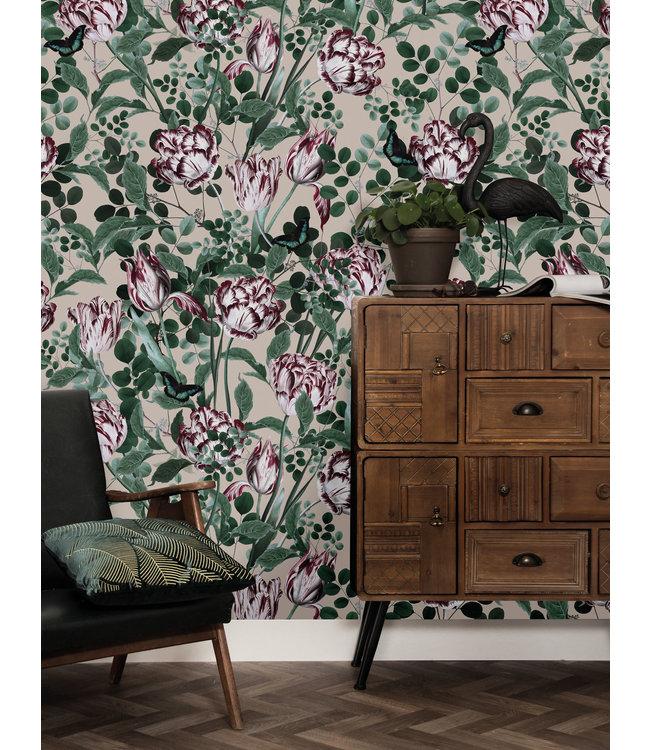 Bold Botanics Wallpaper, 97.4 x 280 cm