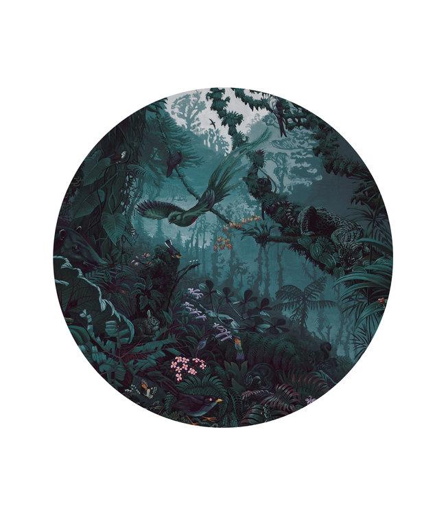 Tapetenpaneel rund Tropical Landscapes, ø 142.5 cm