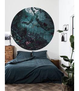 Behangcirkel Tropical Landscapes - 2 formaten