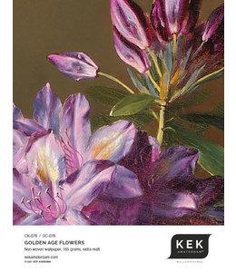 Behangstaal Golden Age Flowers CK-076 - SC-076