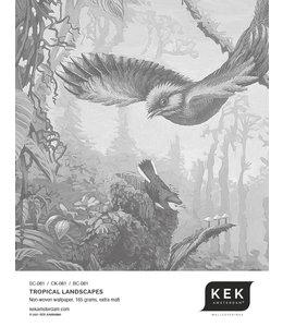 Wallpaper Sample Tropical Landscapes SC-081 - CK-081 - BC-081
