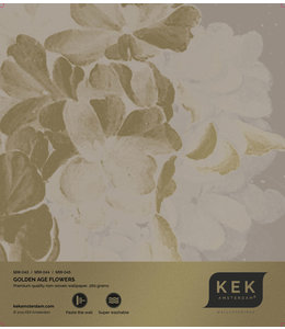 Tapetenmuster Golden Age Flowers MW-043- MW-044 - MW-045