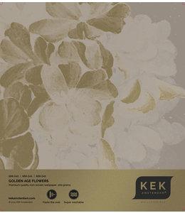 Wallpaper Sample Golden Age Flowers MW-043- MW-044 - MW-045