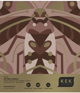 Behangstaal Art Déco Animaux Beetle MW-003