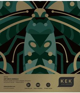 Behangstaal Art Déco Animaux Beetle MW-002
