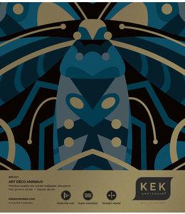 Behangstaal Art Déco Animaux Beetle MW-001