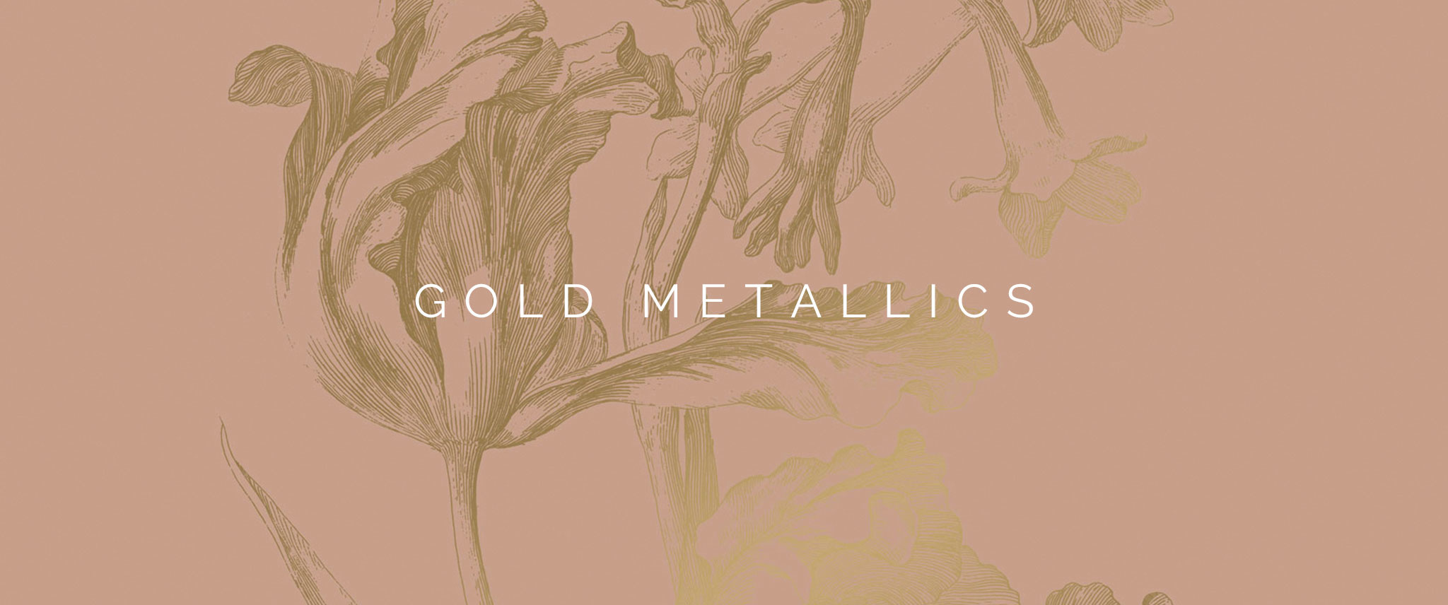 Behang Gold Metallics