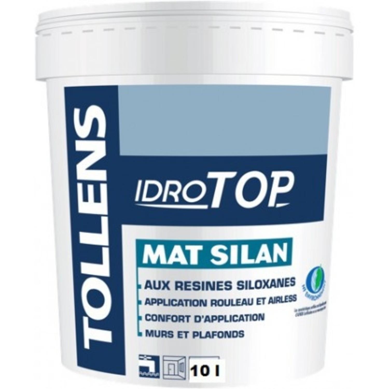 Tollens Idrotop Mat Silan Blanc Boutique Peinture