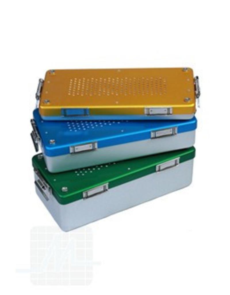 Sterilisatie cassette aluminium
