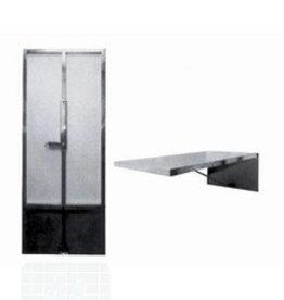 Onderzoektafel wand   120x60cm per stuk (1790010)