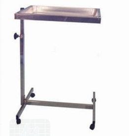 Bijzettafel RVS 36x30 cm per stuk (1790620)