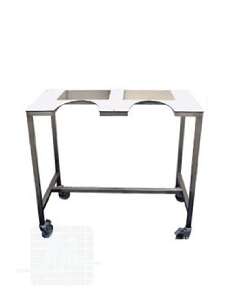 Scan tafel met wielen