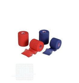 Elastomull haft rood of blauw