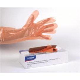 Handschoen Vet Schouder oranje  Curavet